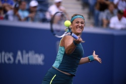 Victoria Azarenka - 2015 US Open Day Six: 3rd Round vs. Angelique Kerber @ BJK National Tennis Center in Flushing Meadows - 09/05/15