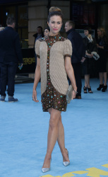 Katherine Kelly - Entourage London Premiere @ Vue West End in London - 06/09/15