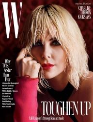 Charlize Theron - W Magazine August 2017