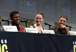 Daisy Ridley - Star Wars: The Force Awakens Panel @ San Diego Comic-Con 2015 - 07/10/15