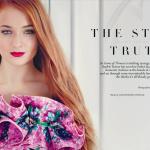Sophie Turner - Tatler UK April 2014