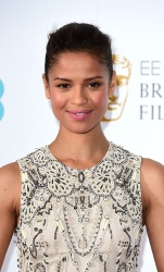 Gugu Mbatha-Raw - EE British Academy Film Awards Nominations Announcement @ BAFTA in London - 01/08/16