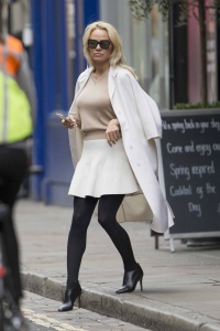 Pamela Anderson - Out & About in London - February 21st 2017