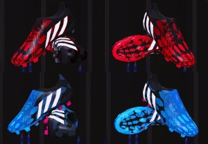 Download Predator Instinct Blue and Red Boot Edits by NightmareGK13