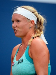 Kiki Bertens - 2015 US Open Day Three: 2nd Round vs. Serena Williams @ BJK National Tennis Center in Flushing Meadows - 09/02/15