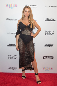 Hannah Davis Jeter - VIBES By SI Swimsuit 2017 Launch Festival in Houston - February 18th 2017