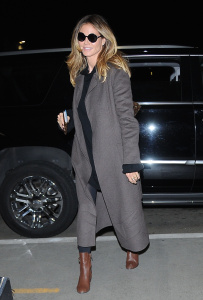 Heidi Klum - Departing At LAX - February 13th 2017