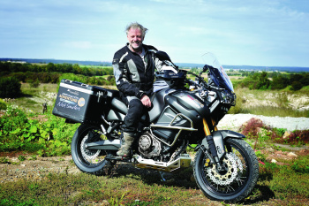 Nick Sanders is now Yamaha Destination Adventure ambassador