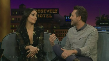 Vanessa Hudgens - James Corden 2017 03 16 | HD 720p