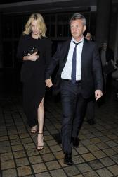 Sean Penn - Charlize Theron and Sean Penn - seen leaving Royal Festival Hall. London - February 16, 2015 (153xHQ) 30jVPch1