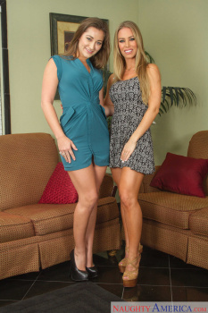 Nicole Aniston, Dani Daniels - 2 Chicks Same Time