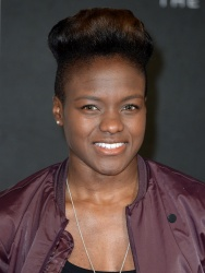 Nicola Adams - Creed European Premiere @ Empire Leicester Square in London - 01/12/16