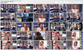 Christine Lakin - Big Morning Buzz - 4-21-14