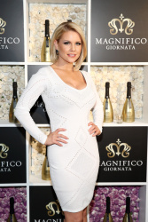 Carrie Keagan - Magnifico Giornata launch party in NYC 4/3/13