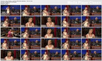 Taylor Schilling - Late Show With David Letterman - 7-22-14