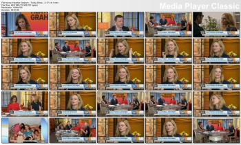 Heather Graham - Today Show - 4-17-14