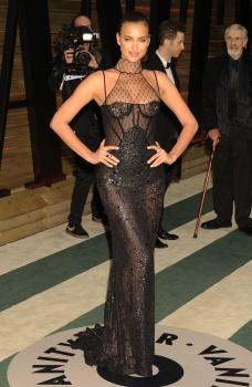 Irina Shayk - 2014 Vanity Fair Oscar Party in Hollywood