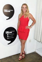 Caroline Wozniacki - The Player's Tribune Party Celebrating Women in Sports & the 2015 U.S. Open in NYC - 08/24/15