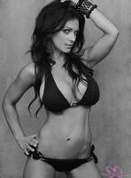 Дениз Милани, фото 5094. Denise Milani Black & White bikini :, foto 5094