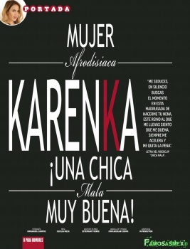 Karenka Juantorena Revista H Foto 4
