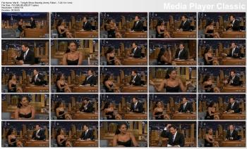 Melanie Brown (Mel B) - Tonight Show Starring Jimmy Fallon - 7-22-14 (leggy & booby)