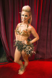 Paige VanZant - Dancing with the Stars Week Nine