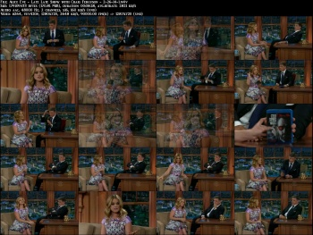 Alice Eve - Late Late Show with Craig Ferguson - 2-26-14