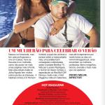 Gatas QB - Veva De Gouveia Hot Magazine Julho/Agosto 2013
