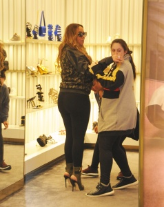 Mariah Carey - Shopping For Shoes in Los Angeles - February 18th 2017