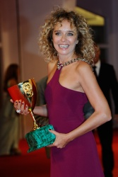Valeria Golino - 72nd Venice Film Festival Award Winners Photocall in Venice - 09/12/15