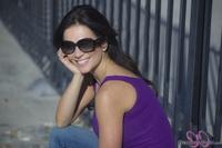 Дениз Милани, фото 4489. Denise Milani Purple in January, foto 4489