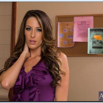 [ Modelos Internacionales ] - Kortney Kane, Sola en la oficina