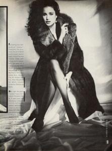 Andie MacDowell model