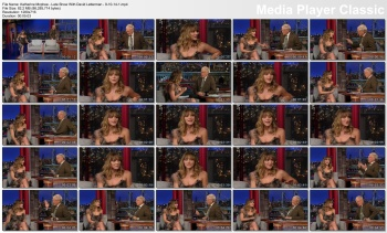 Katherine McPhee - Late Show With David Letterman - 9-10-14
