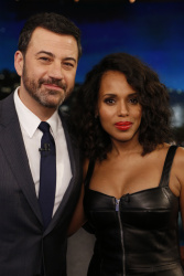 Kerry Washington - Jimmy Kimmel Live: February 9th 2017