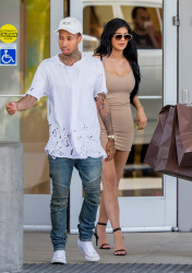 Kylie Jenner - Shopping in Woodland Hills 6/30/15