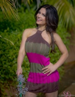 Дениз Милани, фото 5143. Denise Milani Watering the garden :, foto 5143