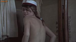 line verndal naken spenst sande