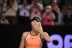 Maria Sharapova - 2016 Australian Open Women's Singles Second Round @ Melbourne Park in Melbourne - 01/20/16