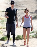 Ashley Tisdale -  hiking in Hollywood Hills 4/28/13