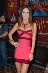 Jessica Jaymes - AVN Adult Entertainment Expo 2016 Day Two @ Hard Rock Hotel & Casino in Las Vegas - 01/21/16