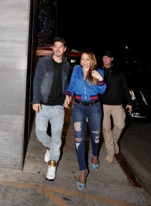 Mariah Carey - At Nobu in Los Angeles - March 2nd 2017