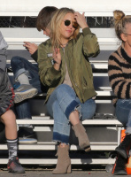 Kate Hudson - At Her Son's Soccer Game in LA 12/2/16