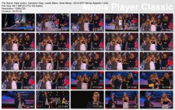 Kate Upton, Cameron Diaz, Leslie Mann, Nicki Minaj - 2014 MTV Movie Awards