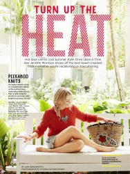 Jennifer Morrison - Good Housekeeping Magazine August 2015 [Scans]