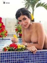 FOTOS: Stephany Olivar Revista Playboy Venezuela Agosto 2015 + PDF 2