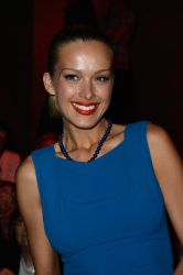 Petra Nemcova – Elie Saab show during Paris Haute Couture Fashion Week July