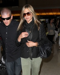 Jennifer Aniston Departs LAX August 12, 2013 x