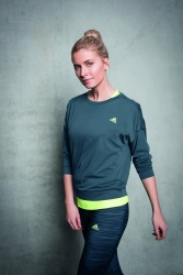 Lena Gercke - Adidas Training Campaign 2015