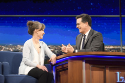 Sally Field - The Late Show with Stephen Colbert: February 16th 2017